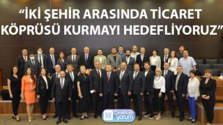 Ukrayna heyeti, Çanakkale'de iş dünyasıyla buluştu