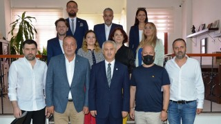 ÇTSO'dan Çanakkale Barosu'na ziyaret