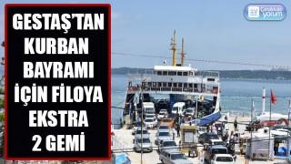 Gestaş'tan Kurban Bayramı için filoya ekstra 2 gemi