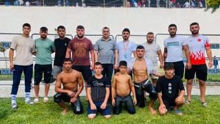 Çan Belediyesi Güreş Takımı, Elmalı'dan da ödüllerle dönüyor