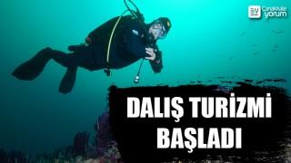 Çanakkale Boğazı'nda tarihi gemi batıklarına dalış turizmi başladı