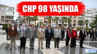 CHP'nin 98'inci kuruluş yıl dönümü kutlandı