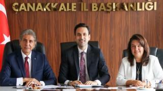 Müsilaj Komisyonu Başkanı Demir'den AK Parti'ye ziyaret