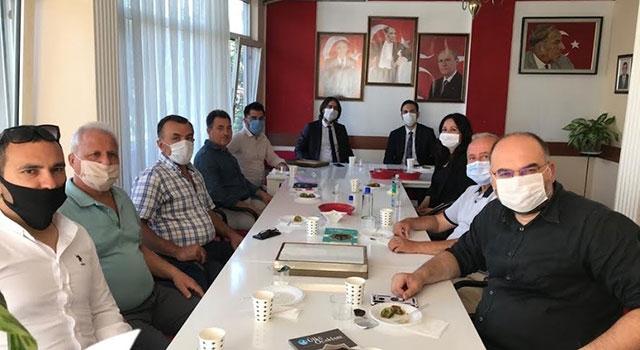 AK Parti'den, MHP'ye ziyaret