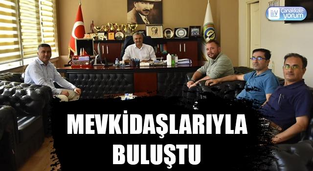 Başkan Bayram, mevkidaşlarıyla buluştu