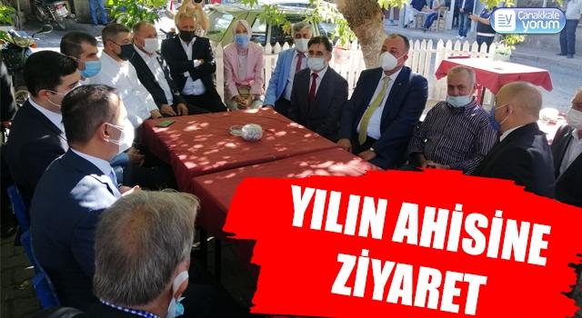 ÇTSO Başkanı Semizoğlu'ndan, Yılın Ahisine ziyaret
