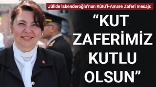 """Jülide İskenderoğlu: """"Kut zaferimiz kutlu olsun"""""""