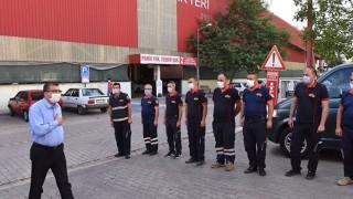 Başkan Öz, belediye personeliyle buluşmalarını sürdürüyor