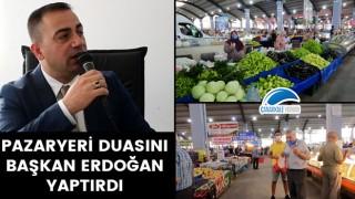 Pazaryeri duasını Başkan Erdoğan yaptırdı