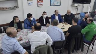 Başkan Erdoğan, esnaf ve vatandaşlarla çay sohbetinde