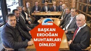 Başkan Erdoğan, muhtarları dinledi