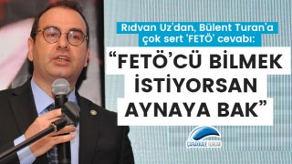 """Rıdvan Uz'dan, Bülent Turan'a çok sert 'FETÖ' cevabı: """"FETÖ'cü bilmek istiyorsan aynaya bak"""""""