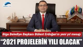 """Başkan Erdoğan: """"2021 projelerin yılı olacak"""""""