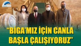 """Başkan Erdoğan: """"Biga'mız için canla başla çalışıyoruz"""""""
