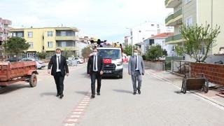 Bayramiç Belediyesi, 23 Nisan coşkusunu sokaklara taşıdı