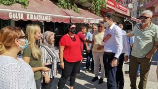 AK Parti'den eş zamanlı esnaf ziyaretleri