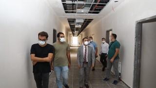 Vali Aktaş, yeni emniyet müdürlüğü binası inşaatını inceledi