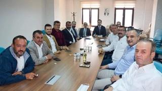 Başkan Makas, İl Genel Meclis Grubu ile toplandı