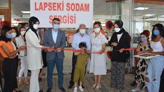 Lapseki'de SODAM sergisi açıldı