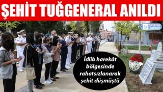 Şehit Tuğgeneral Sezgin Erdoğan anıldı